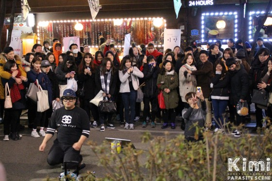 Street live at Hongdae, Seoul