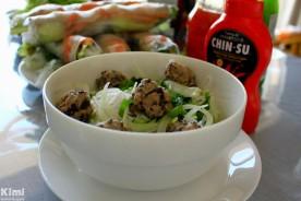 Food - bun moc & goi cuon homemade