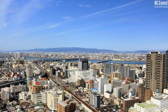 Osaka - View from Osaka Fukushima Tower (1)